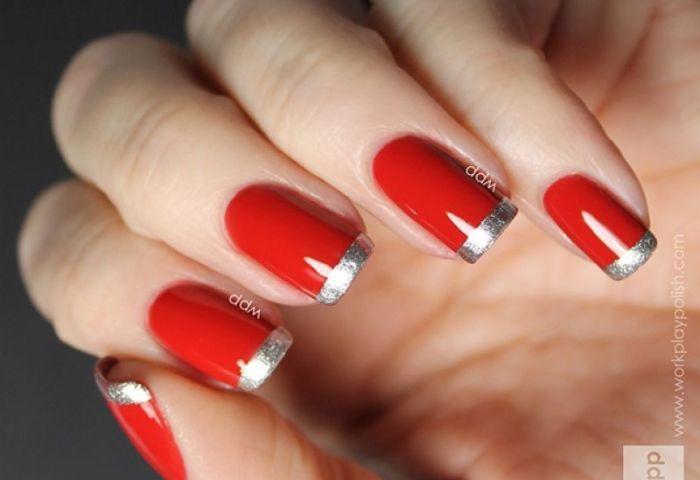 20 Ideas De Manicure Francesa Diseños Diferentes Manicure