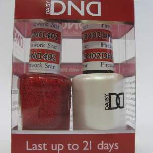 DND Gel Polish / Nail Lacquer Duo - 402 Firework Star