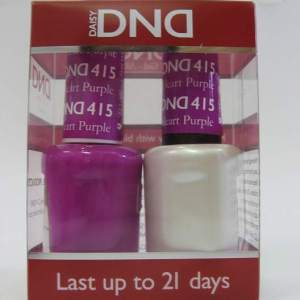 DND Gel Polish / Nail Lacquer Duo - 415 Purple Heart