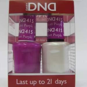 DND Gel Polish / Nail Lacquer Duo - 415 Purple Heart