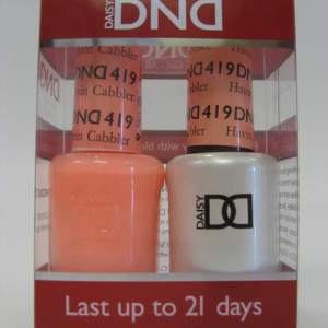 DND Gel Polish / Nail Lacquer Duo - 419 Havin Cabbler