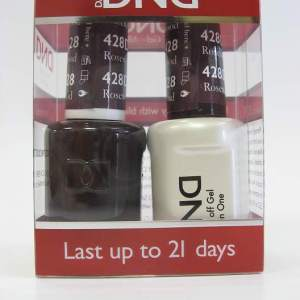 DND Gel Polish / Nail Lacquer Duo - 428 Rosewood