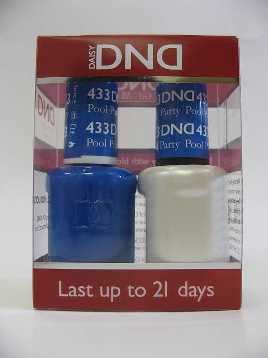 DND Soak Off Gel & Nail Lacquer 433 - Pool Party