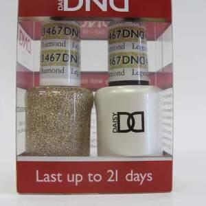 DND Soak Off Gel & Nail Lacquer 467 - Legendary Diamond