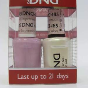 DND Gel Polish / Nail Lacquer Duo - 485 First Impression