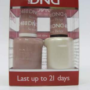 DND Soak Off Gel & Nail Lacquer 488 - Season Beige