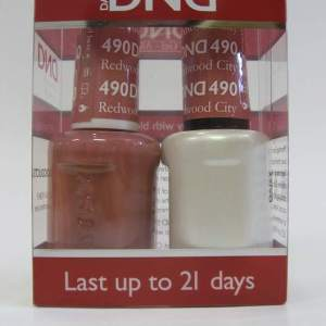 DND Soak Off Gel & Nail Lacquer 490 - Redwood City