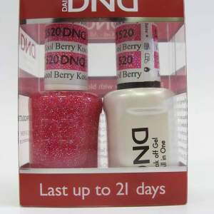 DND Soak Off Gel & Nail Lacquer 520 - Kool Berry