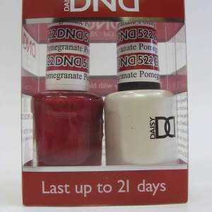DND Soak Off Gel & Nail Lacquer 522 - Pomegranate