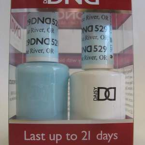 DND Soak Off Gel & Nail Lacquer 529 - Blue River, OR