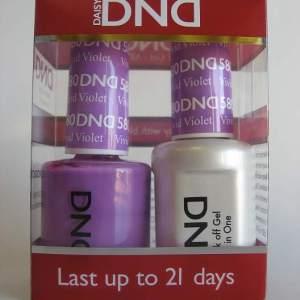 DND Gel & Polish Duo 580 - Vivid Violet