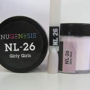 NuGenesis Dip Powder - Girly Girls NL-26