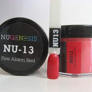 NuGenesis Dipping Powder - Fire Alarm Red NU-13
