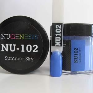 NuGenesis Dipping Powder - Summer Sky NU-102
