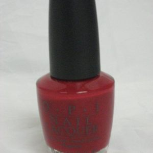 Discontinued OPI B18 - Double Decker Red