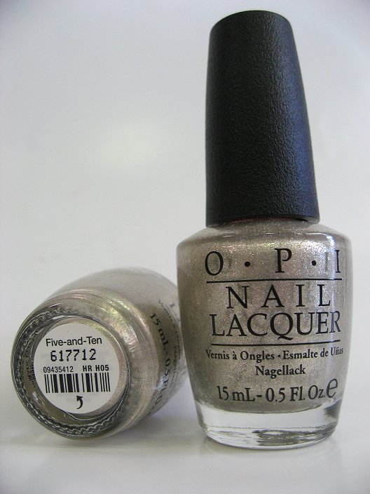 Opi Polish Hr H05 Five And Ten Manicure Pedicure