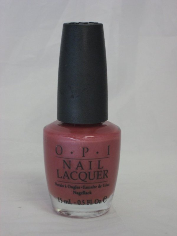 Discontinued OPI H10 - Silent Mauvie