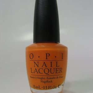 Discontinued OPI J09 - Osaka-To-Me Orange