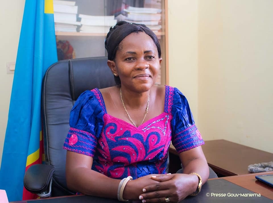 Son Excellence Thérèse Ikonga Lomame