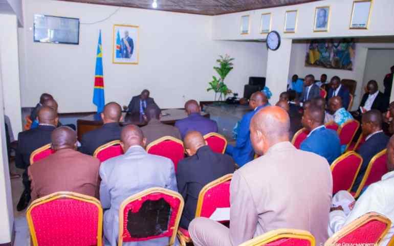 Maniema : Le Gouverneur Auguy Musafiri appelle les services d'assiettes à accroître les recettes