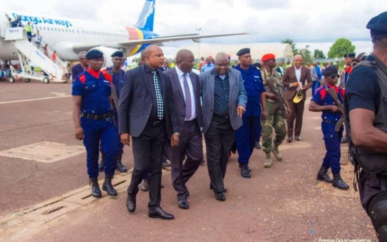 Le Gouverneur Auguy Musafiri a regagné Kindu ce vendredi en provenance de Bukavu via Goma