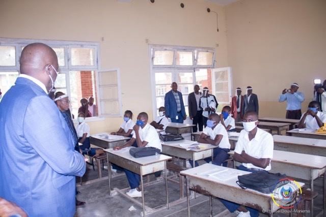 Maniema : Auguy Musafiri exhorte les élèves à se concentrer sur les cours