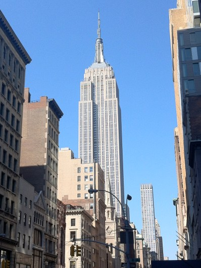 A nice, normal shot of the Empire State Building.