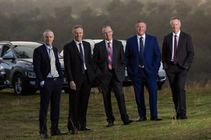 Baker Motors shot for Wmedia for Albury-Wodonga Business Awards Hall of Fame, baker brothers , baker family