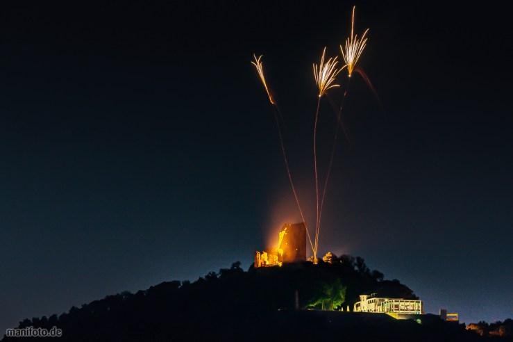 Feuerwerk auf dem Drachenfels .:. 13.7.2013