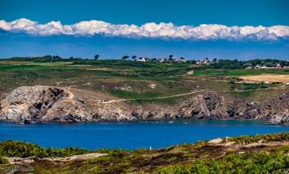 Bretonische Küste zwischen Tréboul und Pointe du Raz