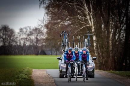 Team d.velop Ladies auf Lapierre, 22.2.2020