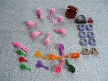 BARBIE & TAKARA JENNYS ACCESSORIES