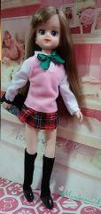 Elly in School Uniform