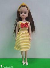 Elly in Summer Stripe Dress