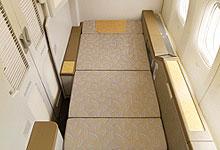 Long Fully Flat Bed