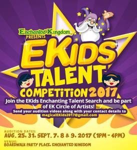 Enchanted Kingdom Kids talent