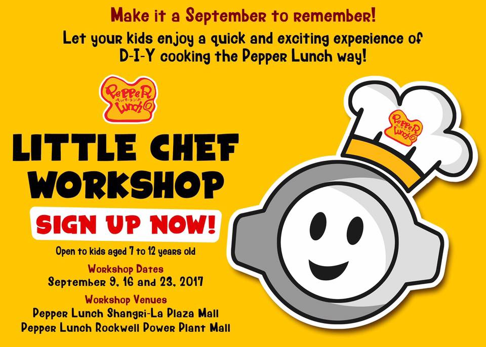 Pepper Lunch Little Chef