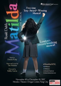 Matilda the Musical in Manila