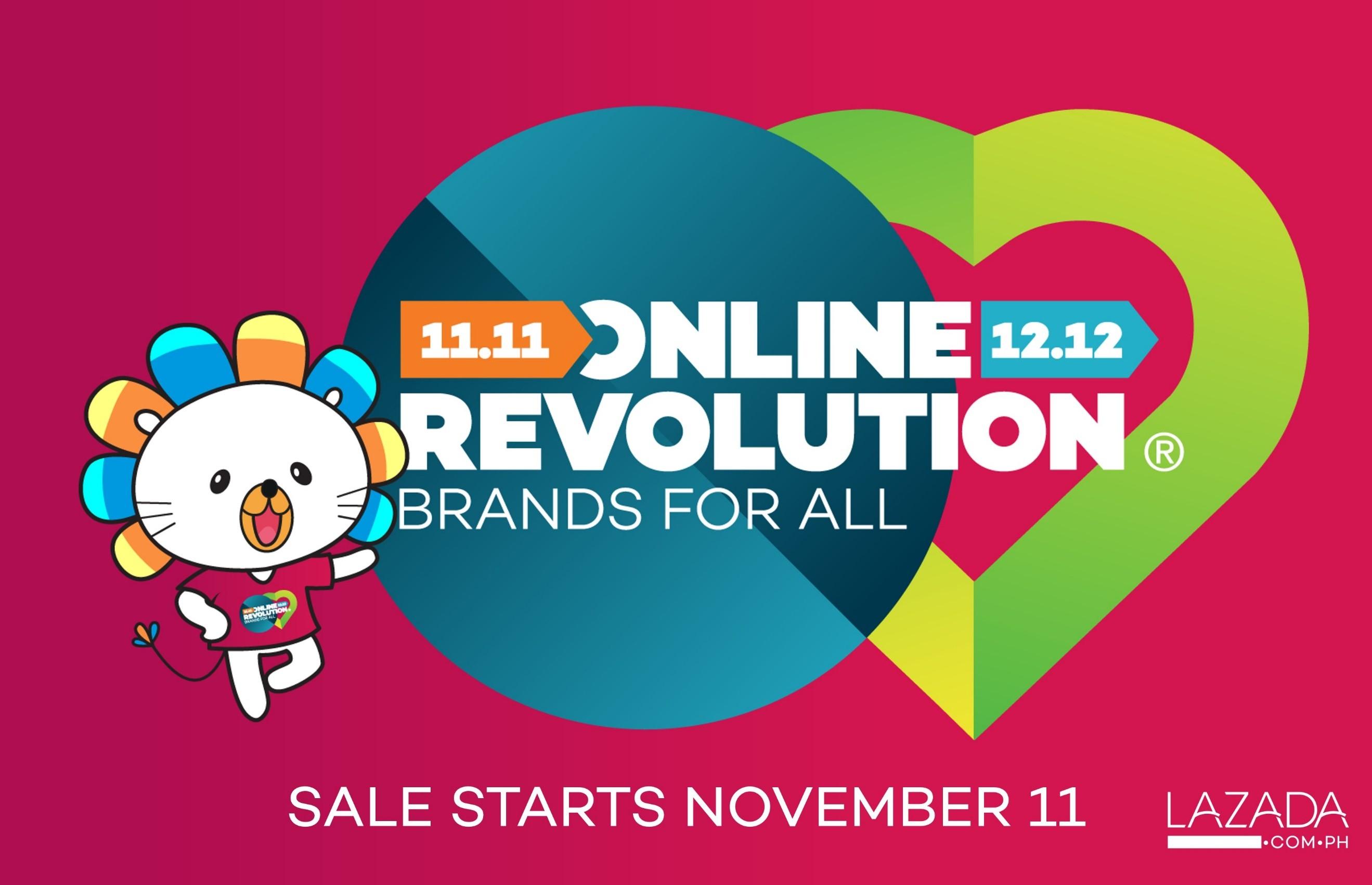 Lazada Online Revolution 1111  Manila On Sale