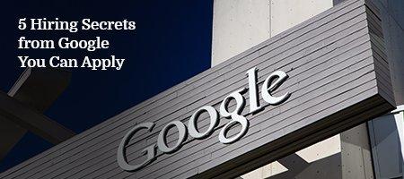 Hiring-Secrets-Google