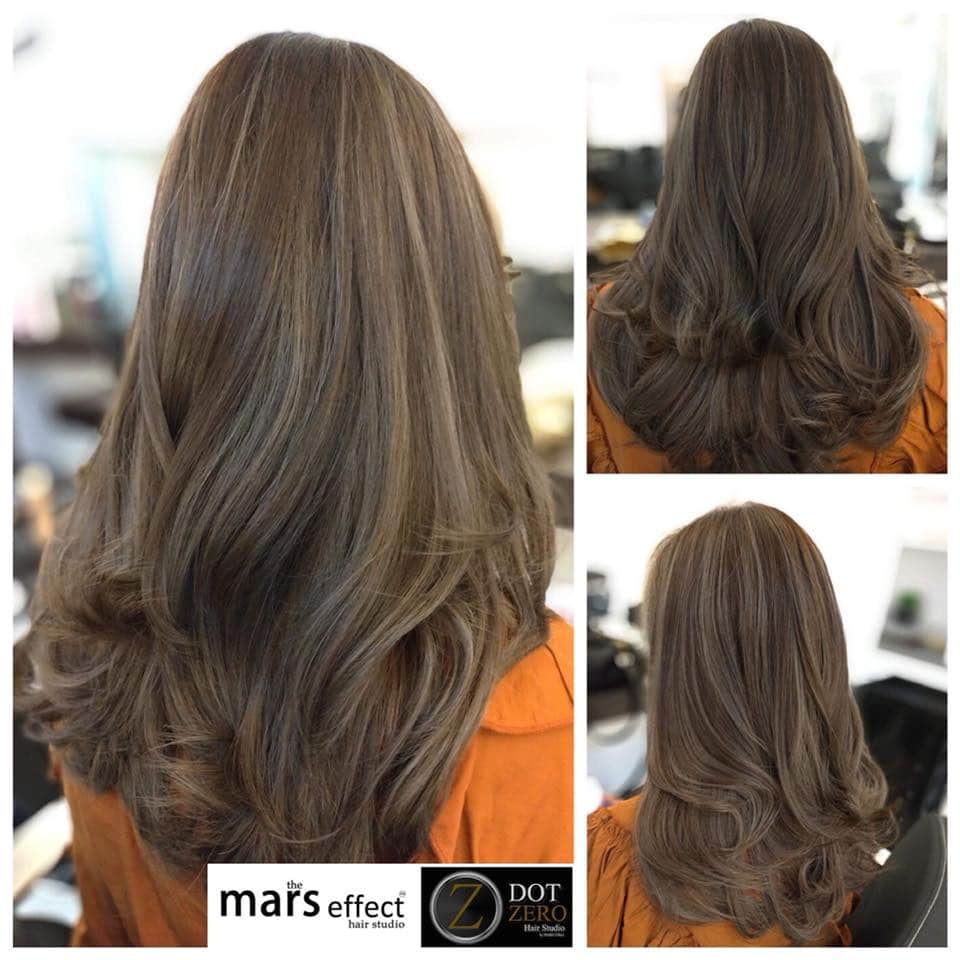 Hair color in Muntinlupa, balayage ph