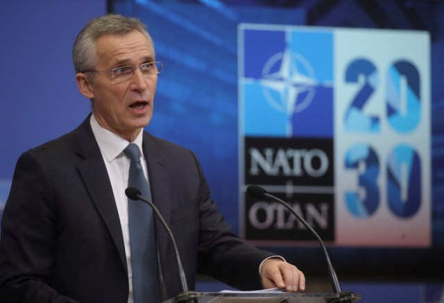 NATO will not leave Afghanistan before 'time is right'