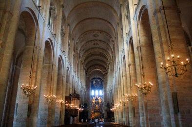 Inside Basilica Saint Sernin