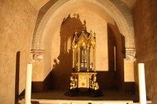 relics in crypt Basilica Saint Sernin