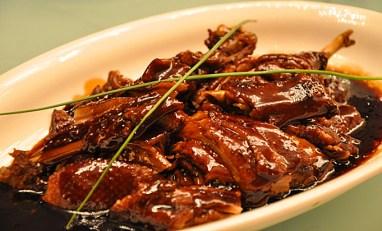 roast duck dinner