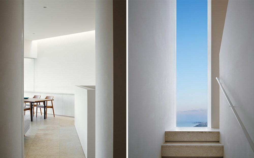 Minimal - Interior details of Okinawa House captured by photgraphers Nacasa & Partners