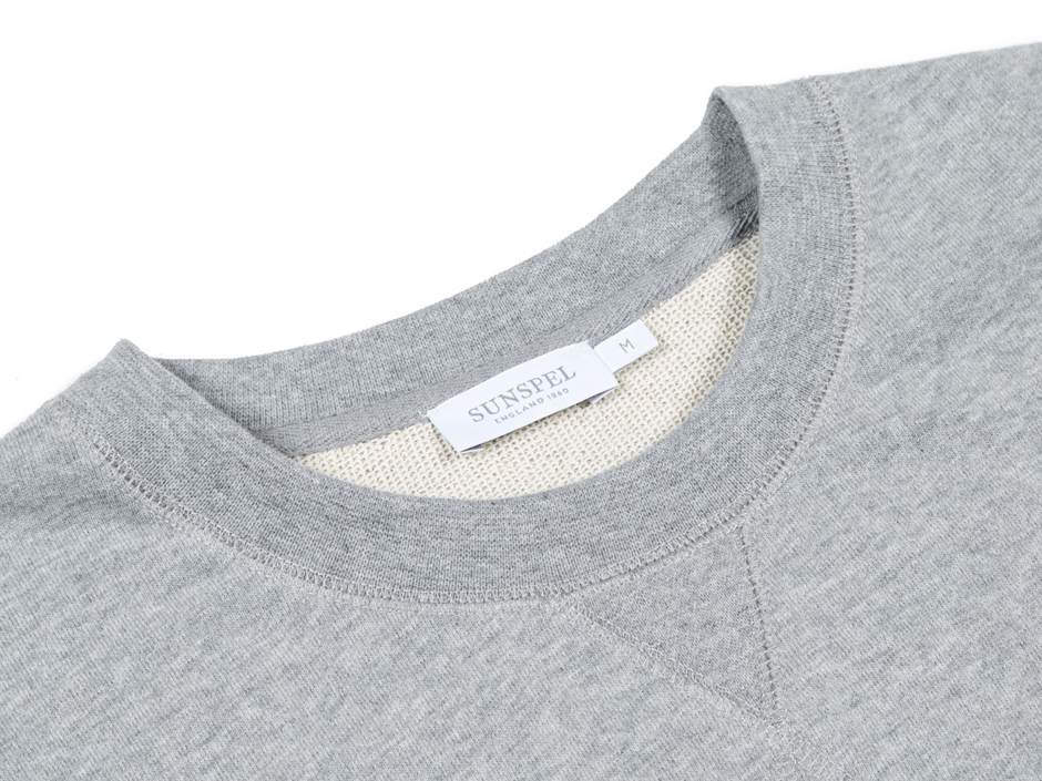 Sunspel Grey Sweatshirt | Image Courtesy of Sunspel