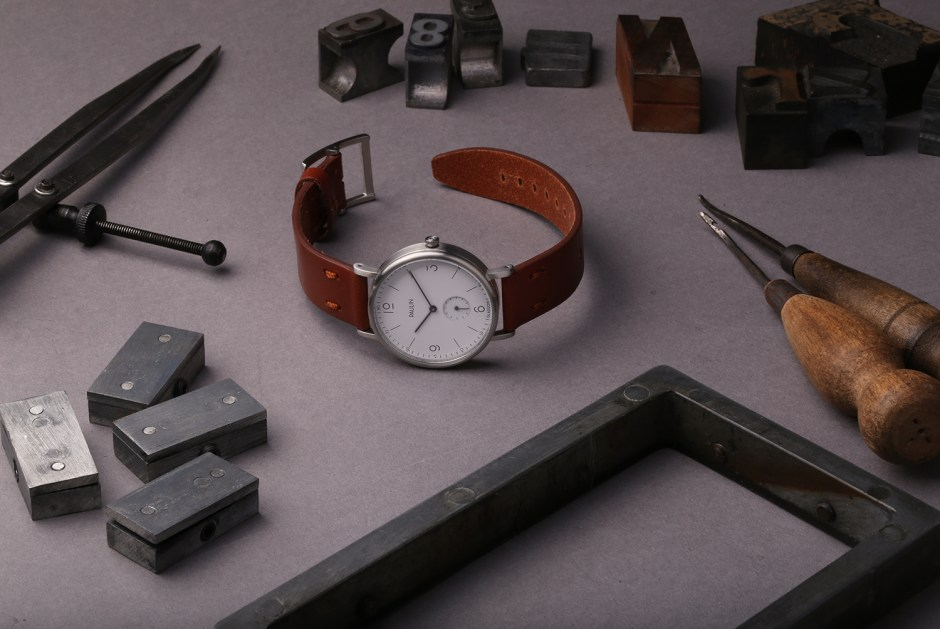 Paulin Commuter Numerical Watch - The Making Of