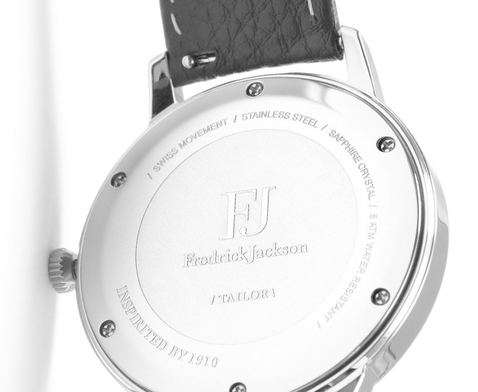 Fredrick Jackson Tailor Watch - Back Detailing
