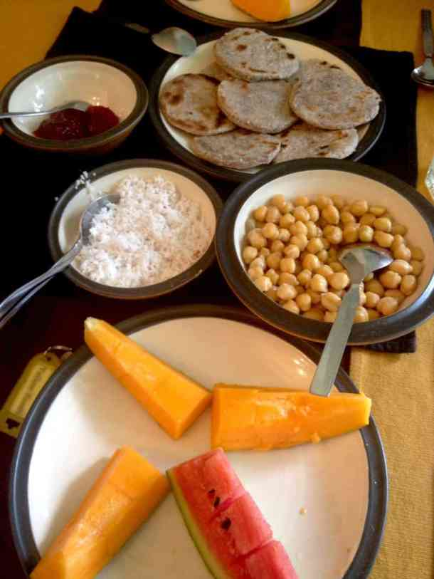 Breakfast in Plantation Villa Resort in Kalutara-Sri Lanka. maninio.com #resortsrilanka #villaresort